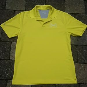 Yellow Under Armour Polo